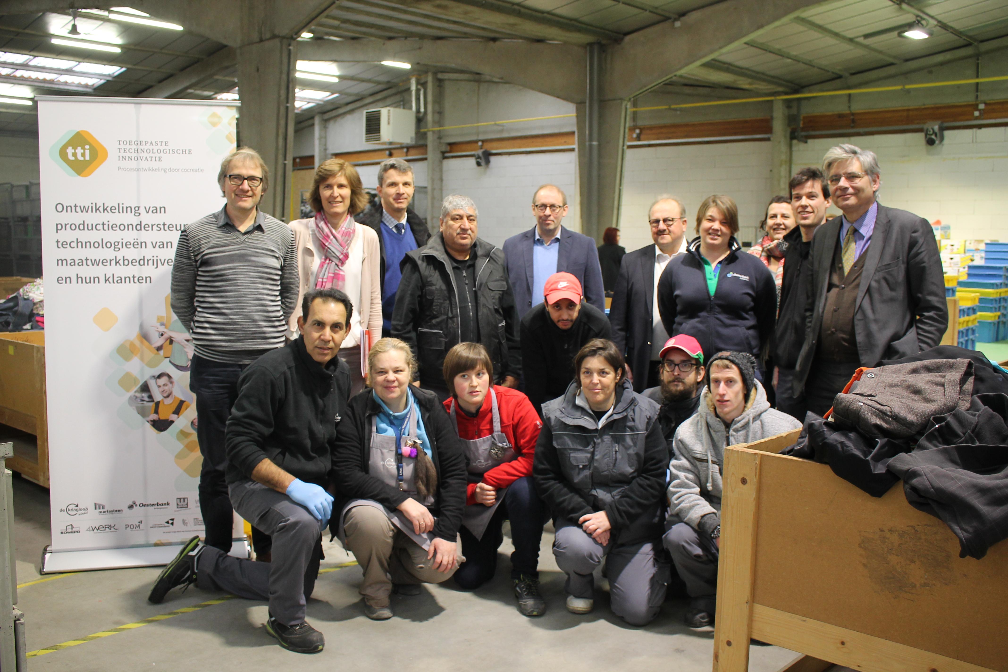 Technologische innovatie in Westvlaamse maatwerkbedrijven