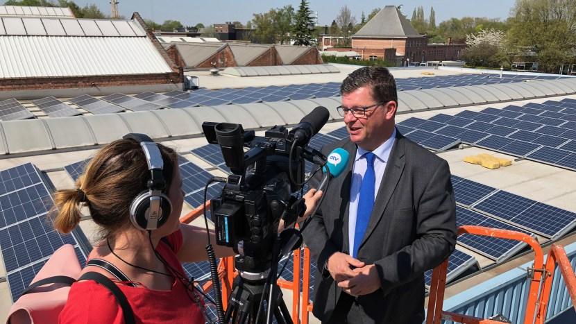 Meer dan 2000 zonnepanelen voor maatwerkbedrijf De Brug