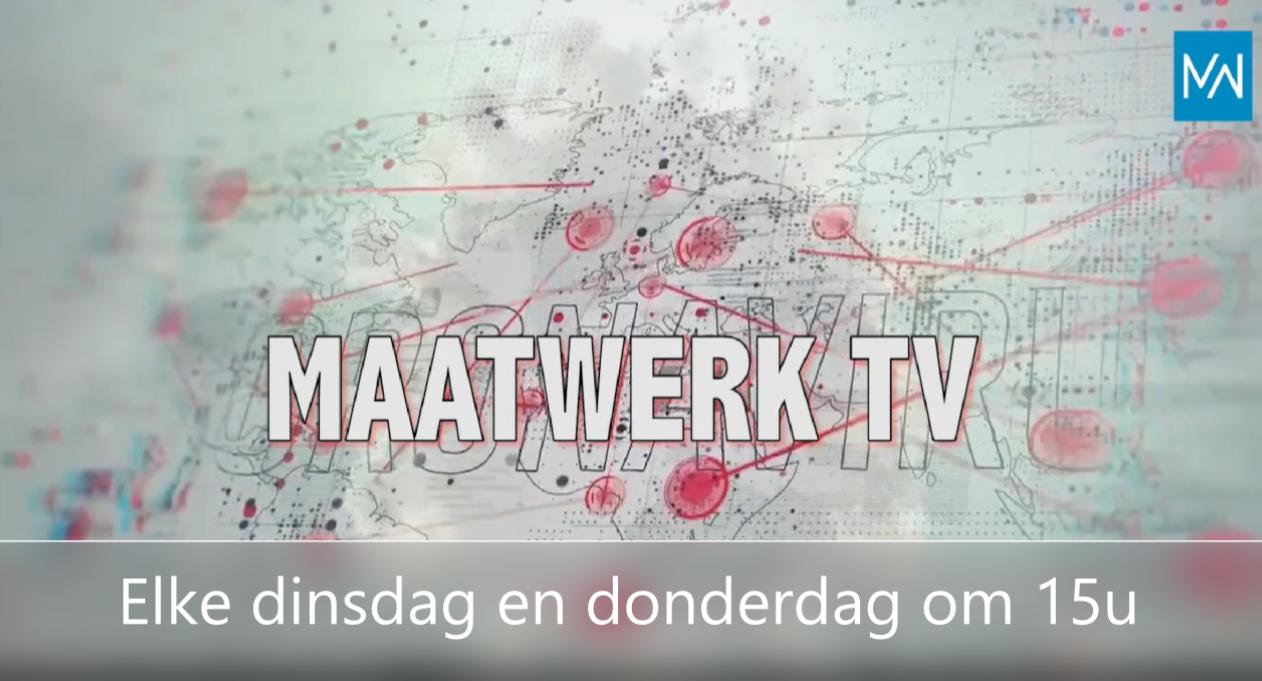 Maatwerk TV: TV om de maatwerkers door het Coronatijdperk te helpen