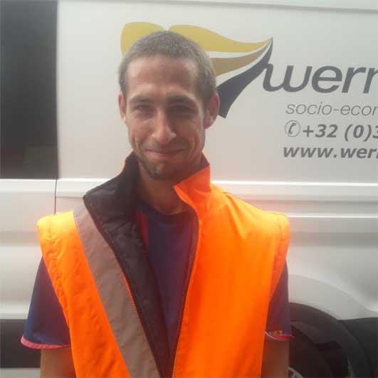 Mathias is de 500ste werknemer voor Werminval