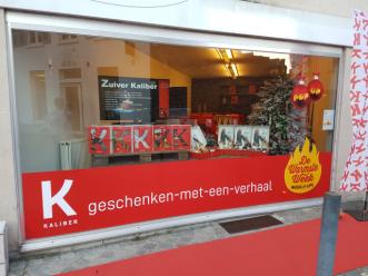 Maatwerkbedrijf Kaliber opent pop-up store