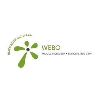 Logo WEBO/Borgerstein vzw
