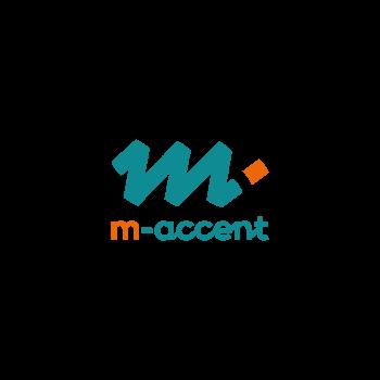 Logo logo m-accent