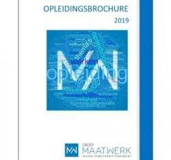 De nieuwe vormingsbrochure van Groep Maatwerk is er!