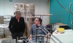 Bezoek minister Homans aan Arop
