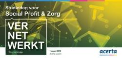 Studiedag Social Profit en Zorg op 1 maart