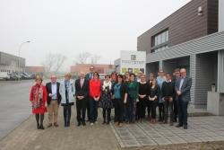 Vlaamse parlementairen bezoeken maatwerkbedrijven