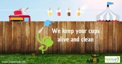 Cup it clean: een energie-efficiente afwasoplossing voor herbruikbare bekers
