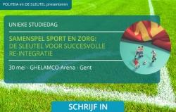 Studiedag over samenspel sport en zorg op 30 mei