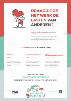 VIVO lanceert Website Waardevol Werk