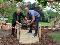 Officiele opening van natuurlijke speeltuin van maatwerkbedrijf Aralea