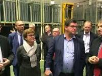 Minister Tommelein op bezoek bij Oesterbank